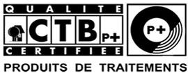CTB P+ qualité certifiée produit de traitement - Certification ESBH